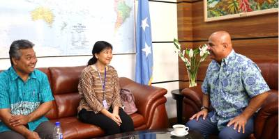 The Federated States of Micronesia Extends its Farewells and Best Wishes to Dr. Eunyoung Ko of the World Health Organization